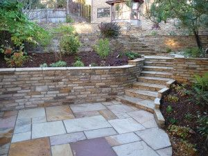 Natural Paving - Cottagestone Walling - Golden Fossil - Mixed Size Pack