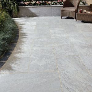 Natural Paving - Di Pietra Porcelain Paving - Nuvola - Single Sizes