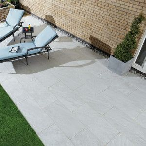 Natural Paving - Di Pietra Porcelain Paving - Tempesta - Single Sizes