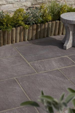 Natural Paving - Premiastone - Burnt Magenta - Project Pack