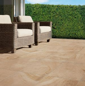 Natural Paving - Sabbia Porcelain Paving - Sole - 600 x 600mm