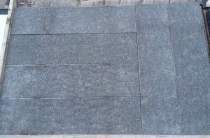 Natural Granite Paving - Black - Planked - 800 x 200mm