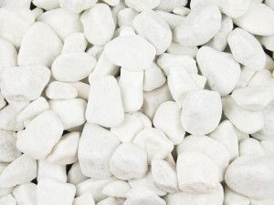 Polar White Pebbles - 20 to 40mm