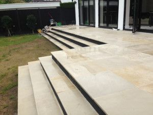 Indian Sandstone Paving - Polished Mint - Patio Pack