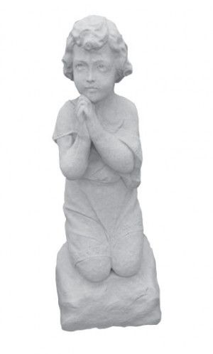 Praying Girl Statue