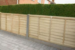 Forest - Pressure Treated SuperLap Fence Panel