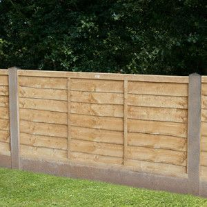 Forest - Pressure Treated Trade Lap Fence Panel