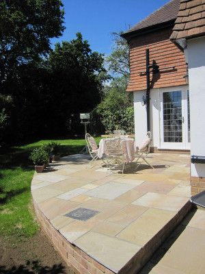 Castacrete - Indian Sandstone Paving - Camel (Rippon Buff) - Patio Pack - Calibrated