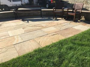 Indian Sandstone Paving - Rippon Buff - Single Sizes
