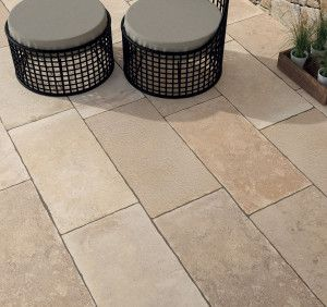 Bradstone - Romeli Porcelain Collection - Buff Blend - Single Sizes