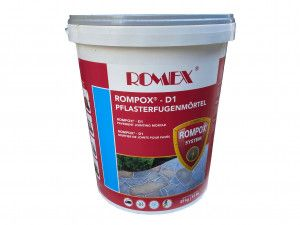 Romex - Rompox D1 - Stone Grey - Pavement Fixing Mortar Slurry 25Kg