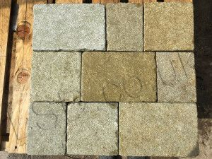 Indian Limestone - Sawn Block Paving - Sandur Yellow