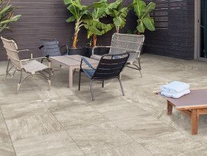 Porcelain Paving Collection - Silver Stone - Single Sizes