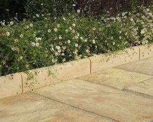 Stonemarket - Dalestone Edging - Light Buff - 450 x 200mm