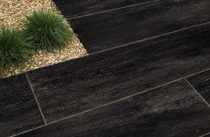 Stonemarket - Knotwood Paving - Char - 1200 x 300mm