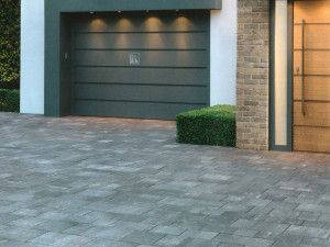 Stonemarket - Medley Paviors Smooth - Frost Grey - Project Pack