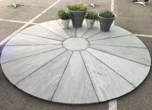Stonemarket - Trustone Radius - Fellstyle - Large Segment Circle and Corner Infill Kit