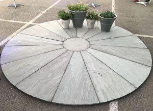 Stonemarket - Trustone Radius - Sawn Edge - Fellstyle - Large Segment Circle and Corner Infill Kit