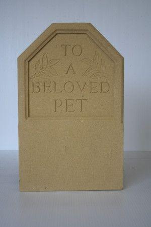 Pets Stone Headstone