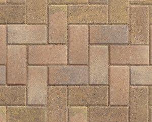 Marshalls - Standard Concrete Driveway Block Paving - Buff