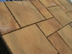Rutland Paving - Mellow Stone - Oakham Pattern - Patio Pack