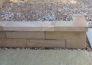 Stonemarket - Avant Garde Walling - Caramel - Copings