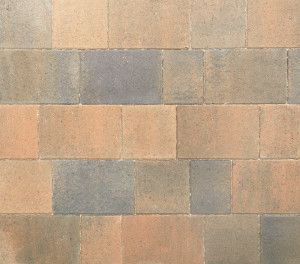 Stonemarket - Avenu Driveway Paviors - Burnt Ochre - Single Sizes