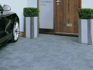 Stonemarket - Elemental Paviors - Charcoal