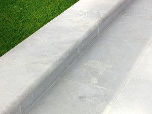 Stonemarket - Lorento Marble Paving - Ivory - Step Tread