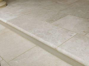 Stonemarket - Lorento Marble Paving - Perlino - Step Tread