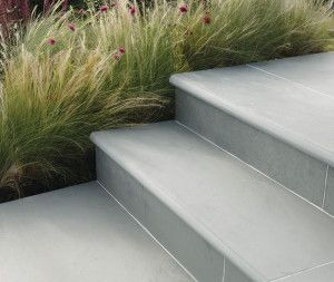 Stonemarket - Nordus Slate Paving - Gris - Step Tread