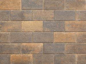Stonemarket - Pavedrive Paviors - Burnt Ochre - 200 x 100 x 50mm