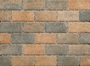 Stonemarket - PermeaPave Paviors - Burnt Ochre - 200 x 100 x 60mm