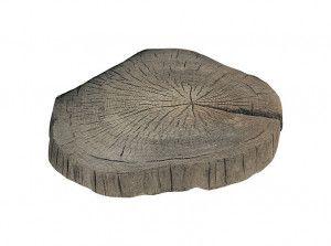 Stonemarket - Timberstone - Driftwood - Log Stepping Stone