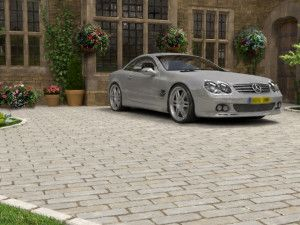 Strata Stones - Block Paving - Block Setts - Mint - 200 x 100mm