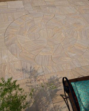 Strata Stones - Circle Collection - Elegance - Mirage (Spinning) Rufina (Rainbow)