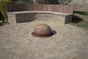 Strata Stones - Sandstone Setts - Camel - 100 x 100mm