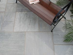 Strata Stones - Whitchurch Sandstone Collection - Grey - Patio Packs
