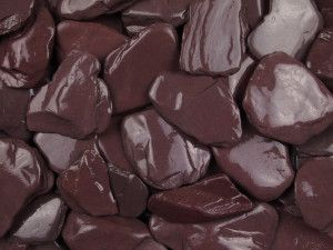 Plum Slate Paddle Stones - 50 to 150mm