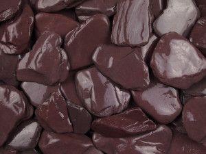 Plum Slate Paddle Stones - 50 to 150mm