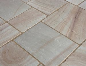 Castacrete - Tumbled Sandstone - Camel - Patio Pack