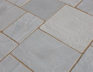 Castacrete - Tumbled Sandstone - Grey - Patio Pack