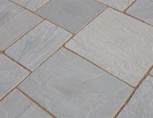 Castacrete - Tumbled Sandstone - Grey - Patio Pack