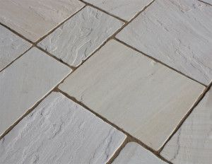 Castacrete - Tumbled Sandstone - Mint - Patio Pack