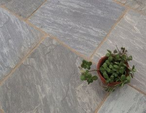 Castacrete - Tumbled Sandstone - Sagar Black - Patio Pack