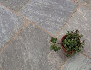 Castacrete - Tumbled Sandstone - Sagar Black - Patio Pack