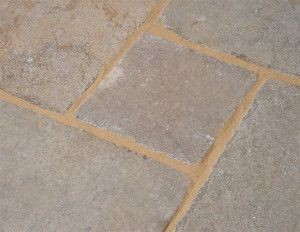 Castacrete - Tumbled Limestone - Yellow - Patio Pack