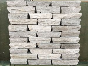 Indian Sandstone Walling - Tumbled - Kandla Grey Blocks