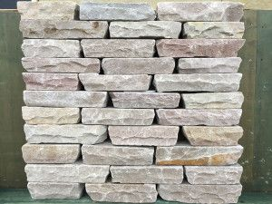 Indian Sandstone Walling - Tumbled - Raj Blocks