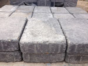 Wyresdale - Abbey Tumbled Setts - Charcoal - 240 x 160mm